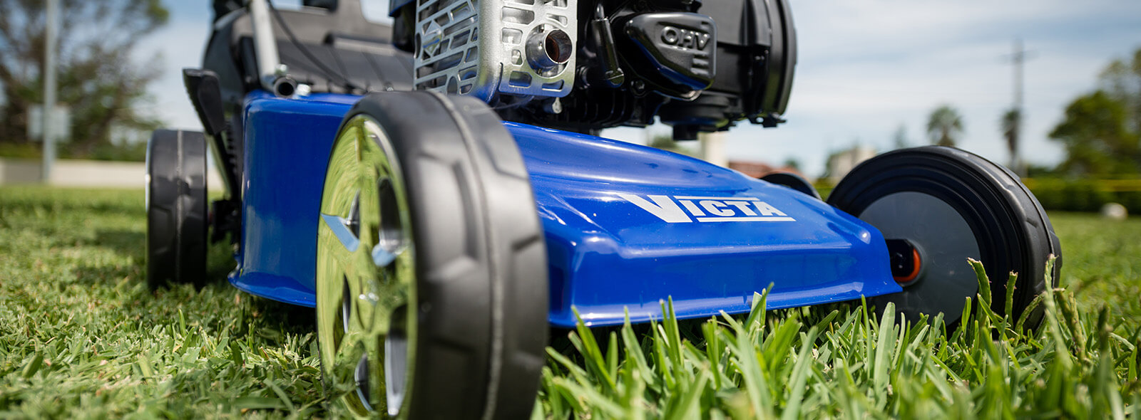 Victa's Domestic Range of Outdoor Power Equipment