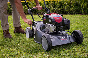 Lawn Mower Cutting Heights by Victa